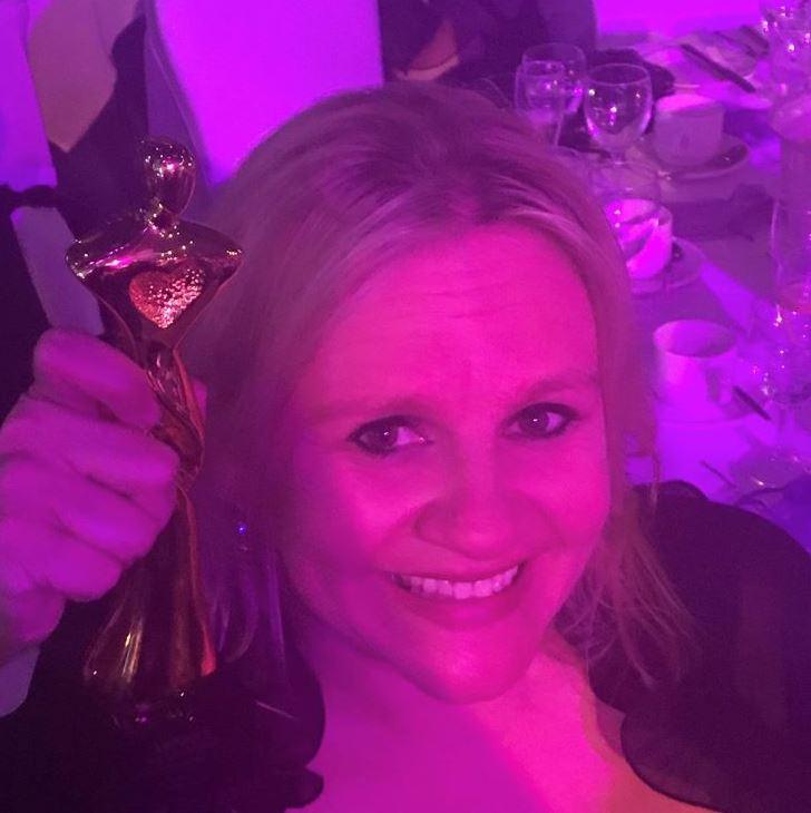 Siobhan Courtney Women in Business Award Winner