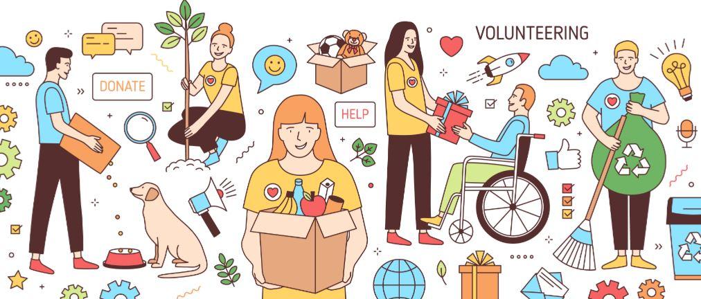 volunteering examples