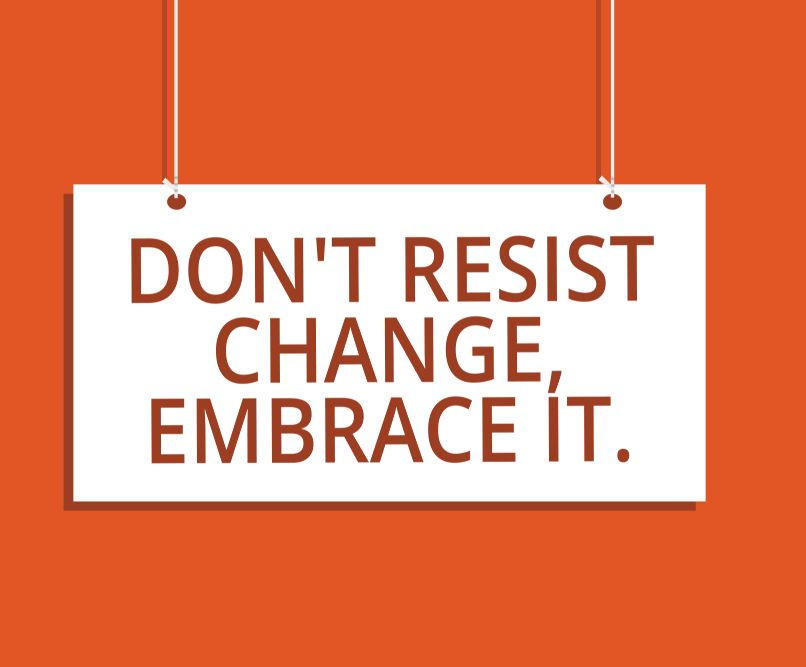 Managing change resistance